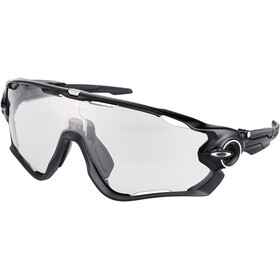 Oakley Jawbreaker Occhiali da sole, polished black/clear black iridium photocromatic